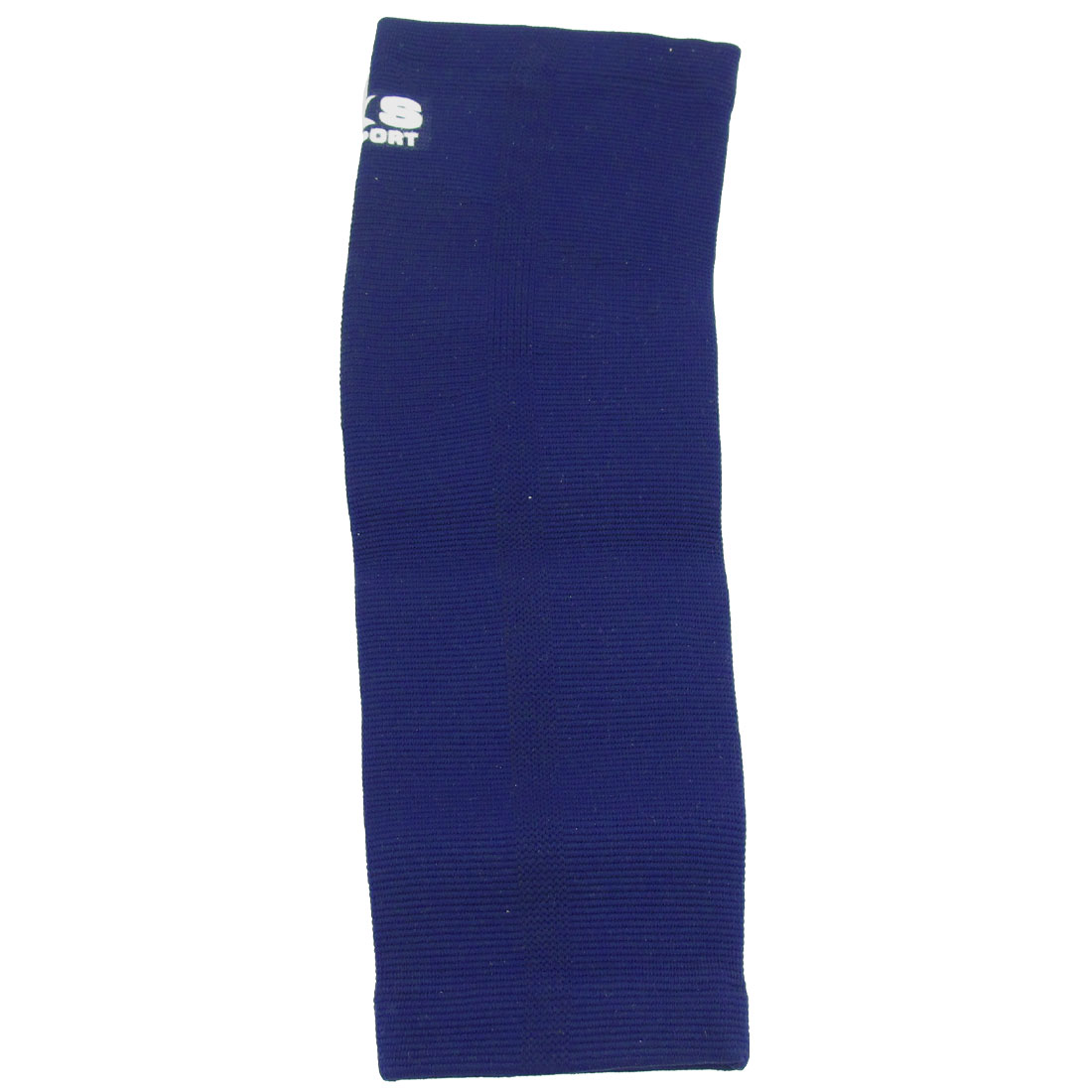 Stretch Navy Blue Pull Over Sleeve Elbow Support Protector