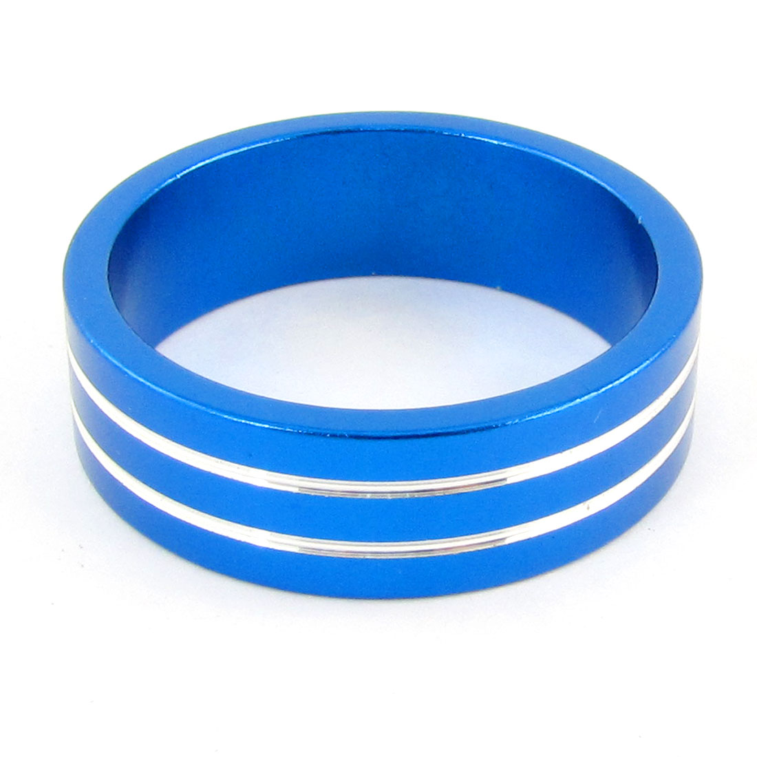 "Durable 1.1"" Diameter Mountain Bike Bicycle Parts Blue Headset Spacers"