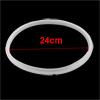 White 24cm Inner Diameter Gasket Sealing Ring for 7-8L Pressure Cookers