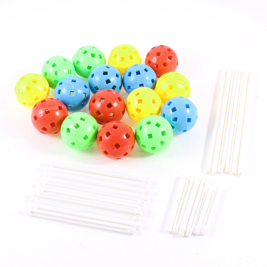 Plastic Colors Logic Training Magic Plugging Beads Toy for Children Kids