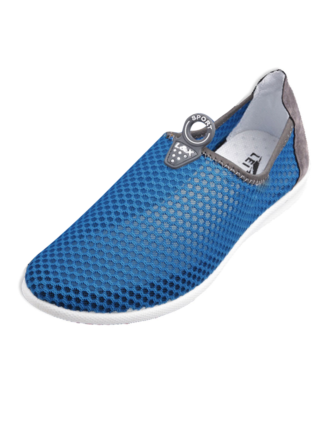 Men Breathable Superior Comfort Shoes Blue US Size 10.5
