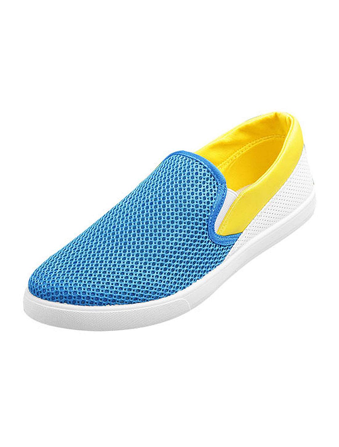 Men Featuring Fashion Style Sneaker Casual Shoes Yellow Blue 11 US Size