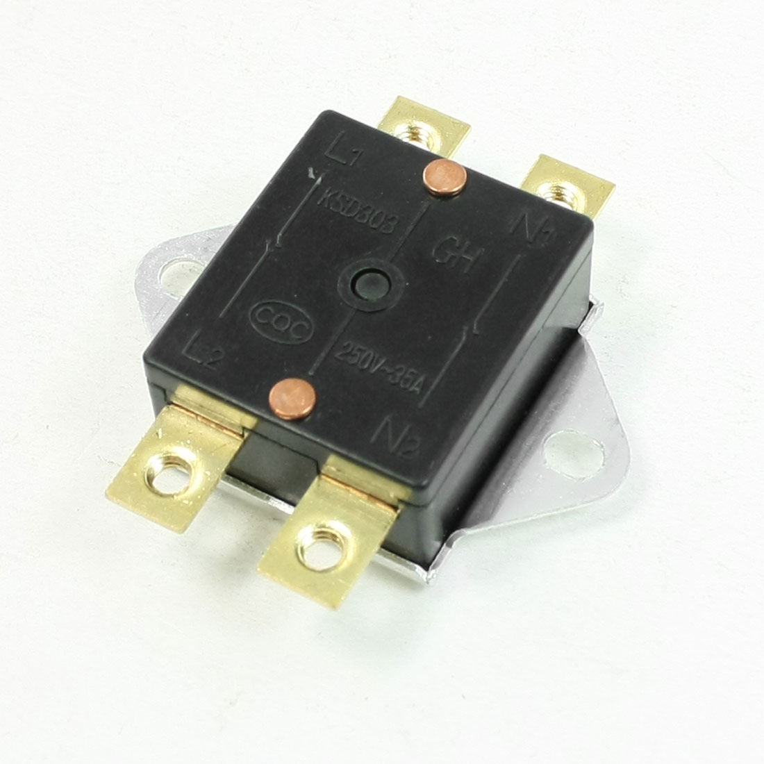 KSD303 98 Celsius N.C.Temperature Control Switch Thermostat Right Angle