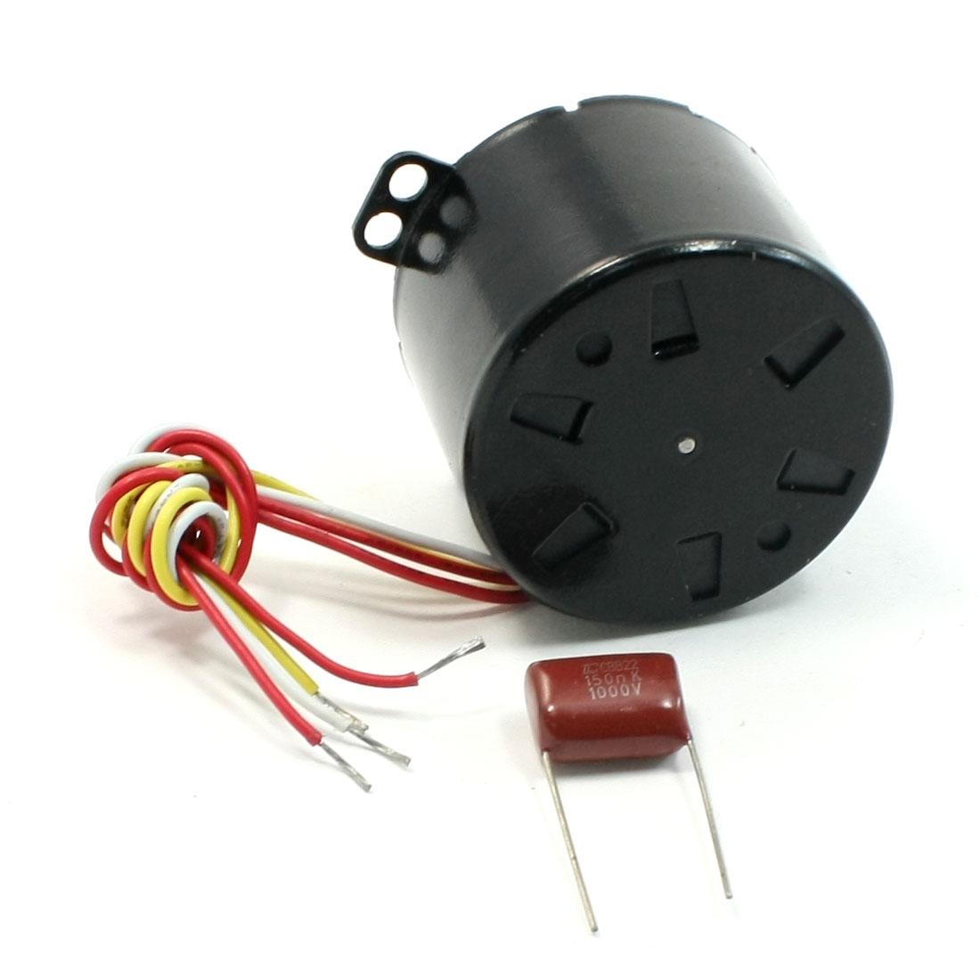 220V 16.7RPM Centrifugal Drive Shaft Synchronous Motor w Capacitor