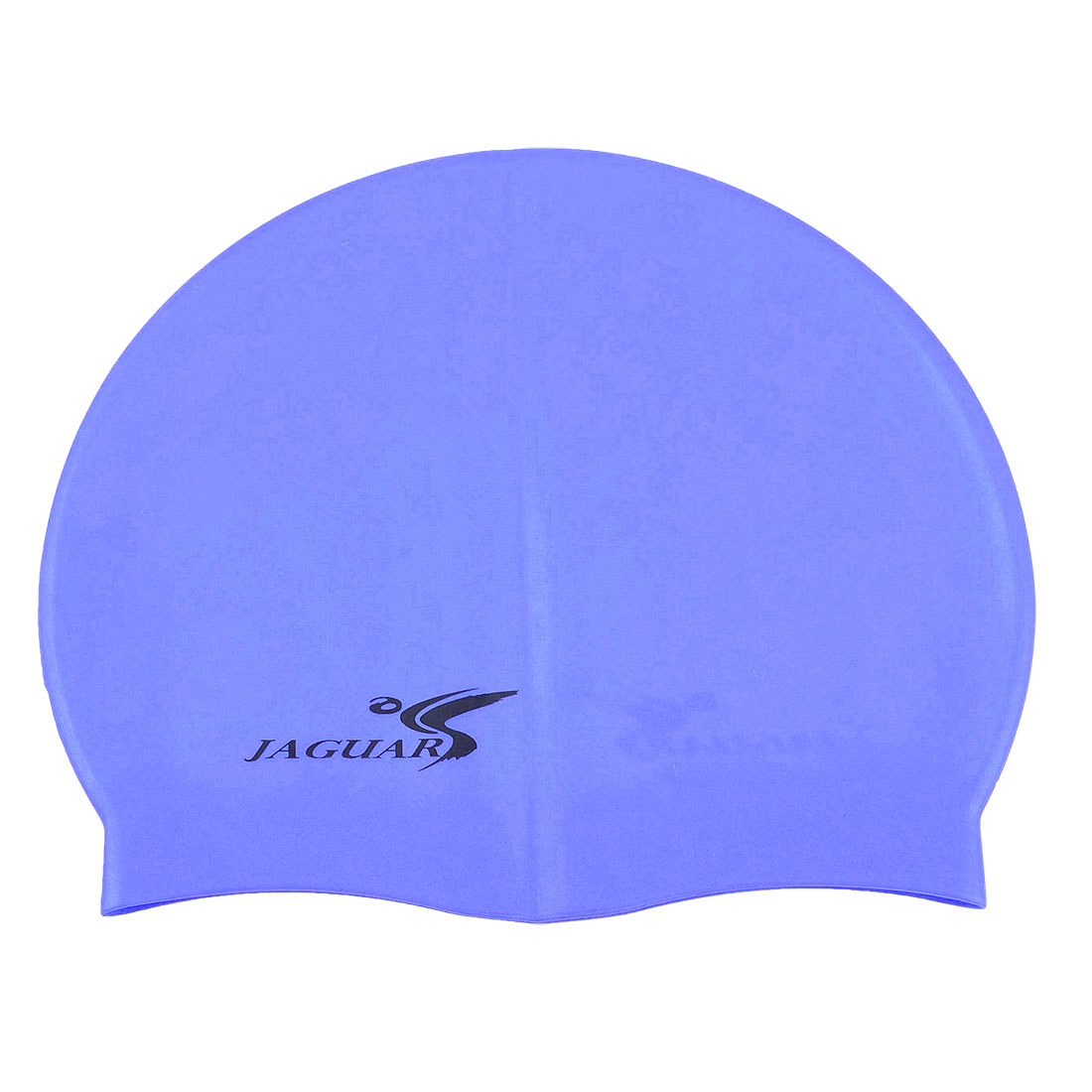 Adult Blue Dome Shaped Soft Silicone Swimming Cap Hat