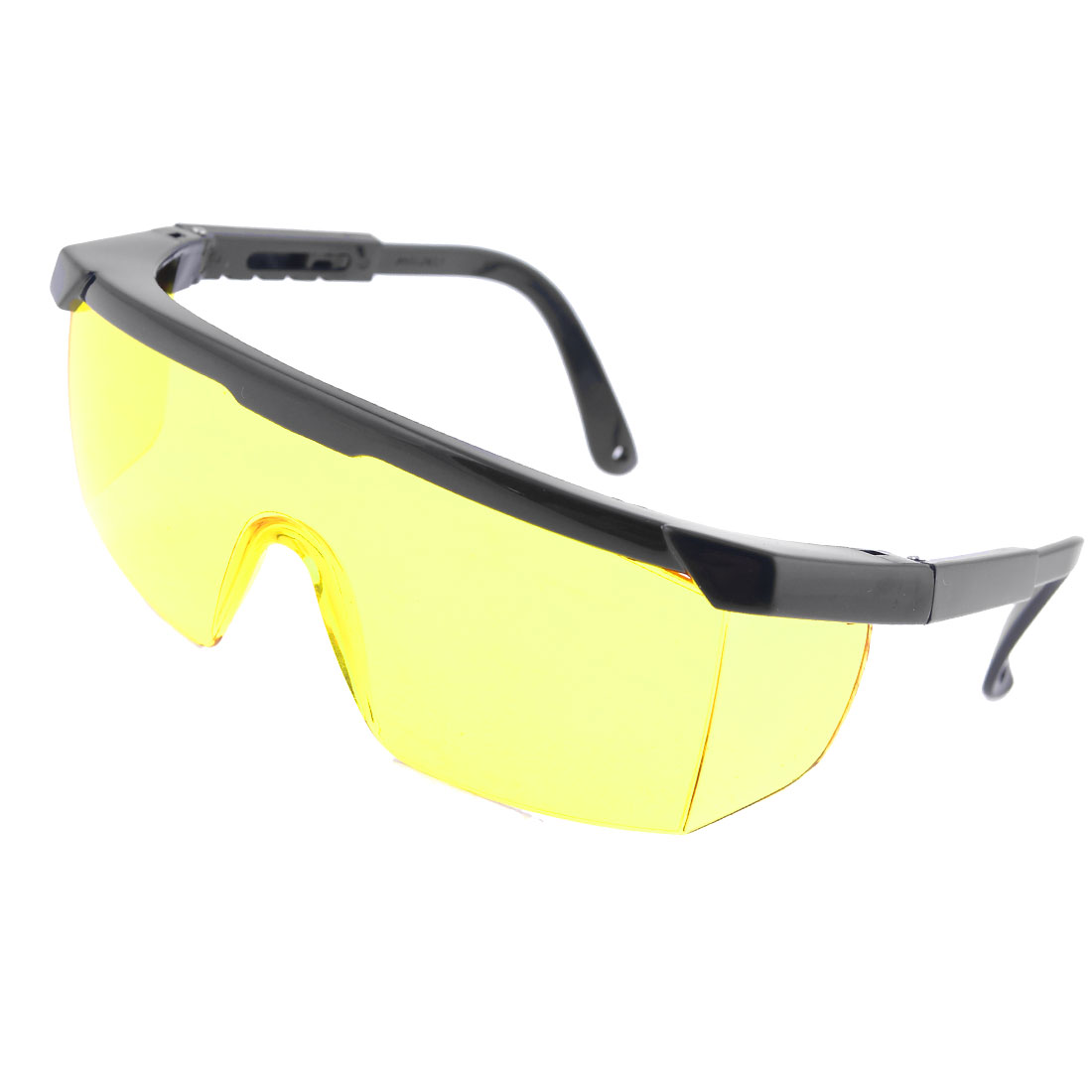 Men Yellow Single Lens Dust Resistance Windproof Glasses Goggles