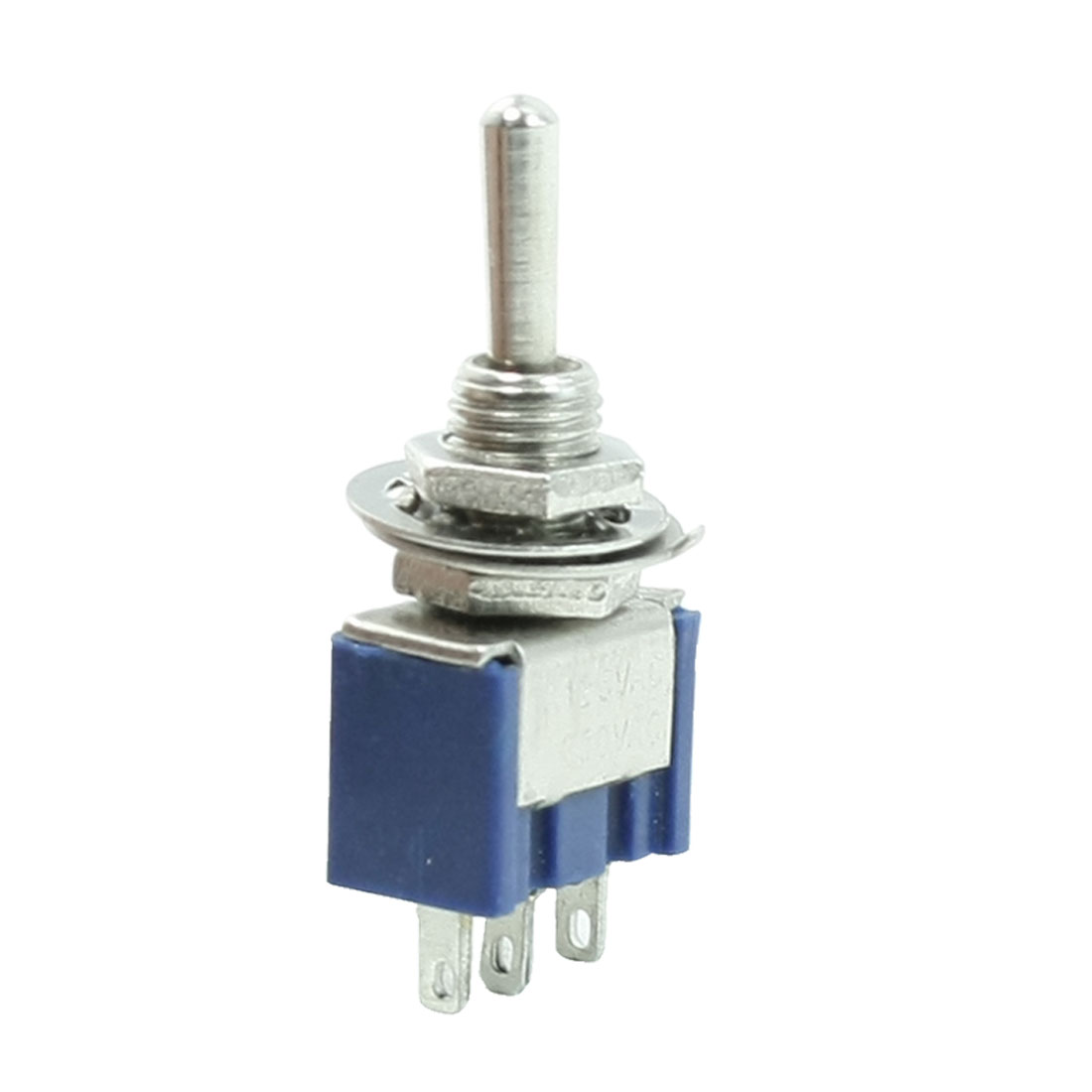 6A/125VAC 3A/250VAC 3-Pin SPST On/Off/On 3 Position Latching Mini Toggle Switch