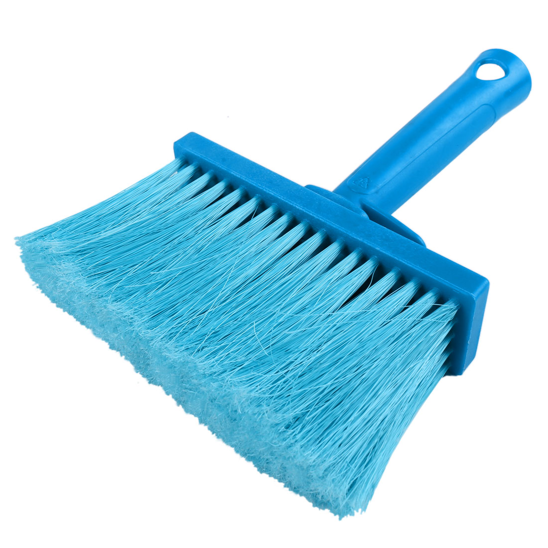 Blue Plastic Handle Soft Bristle Carpet Glass Clothing Cleaning White Wall Scrub Brush