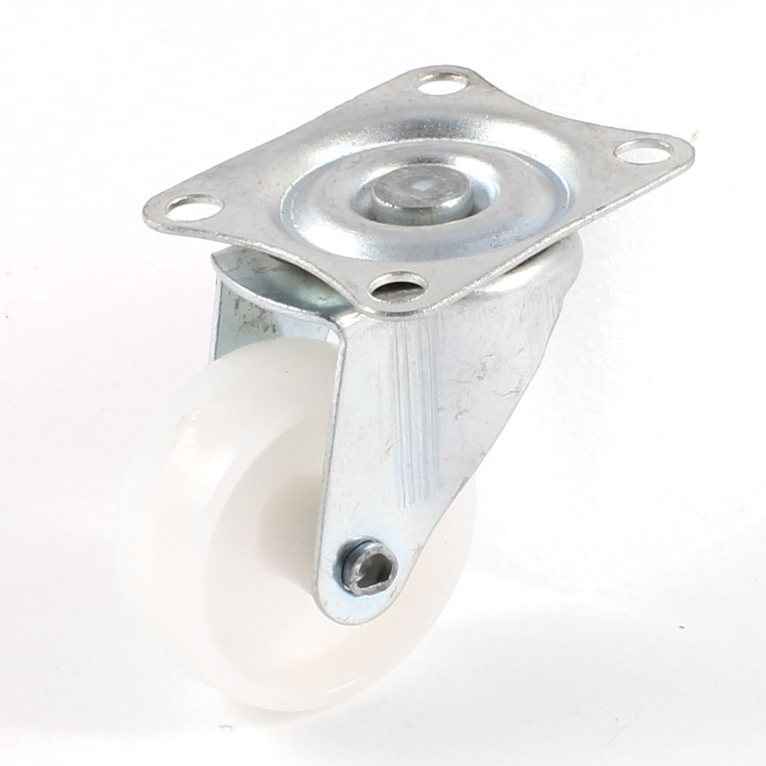 "Logistics Industry Relieve Weight White 1.3"" Dia Caster Wheel"