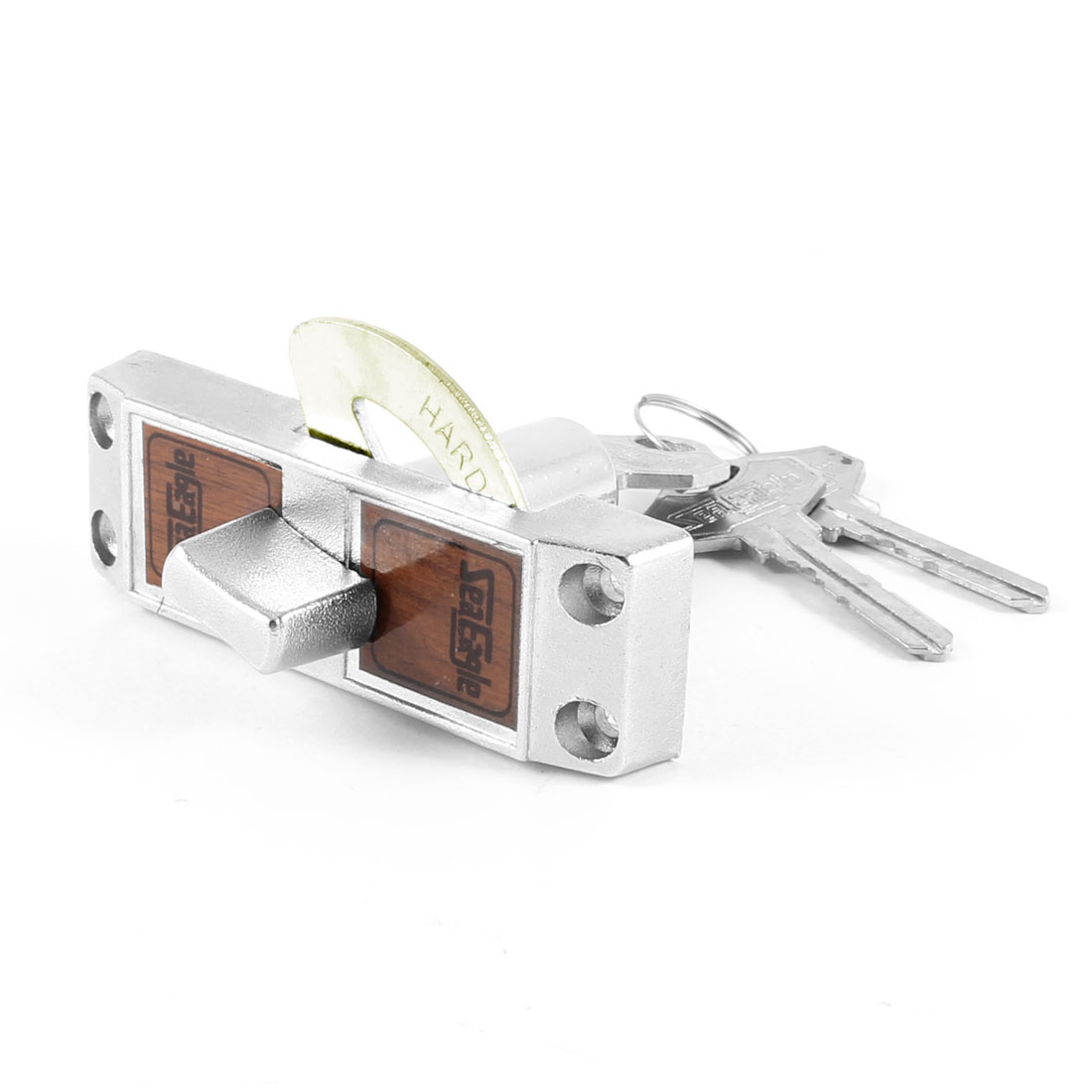 "3.2"" Home Security Aluminium Alloy Cabinet Funiture Door Lock w 3 Keys"