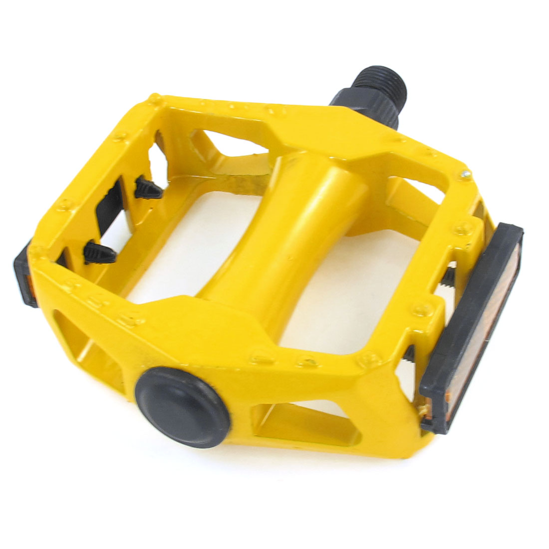 Mountain Road Bike Bicycie Yellow Metal Platform Pedal Part