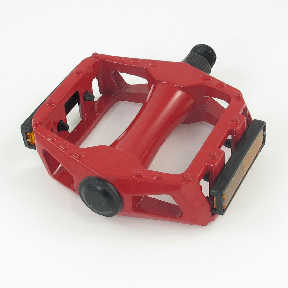 Mountain Road Bike Bicycie Red Metal Platform Pedal Part