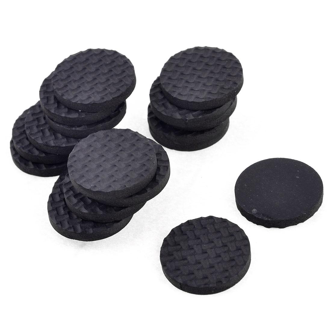 18 Pcs Tables Chairs Furniture Round Pad Protector 27mm x 2mm