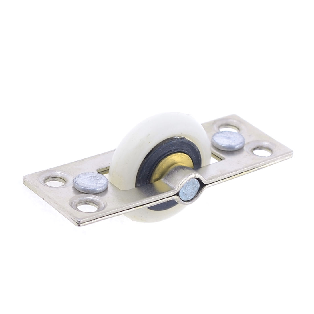 22mm Dia Plastic Single Roller Sliding Door Window Weight Pulley