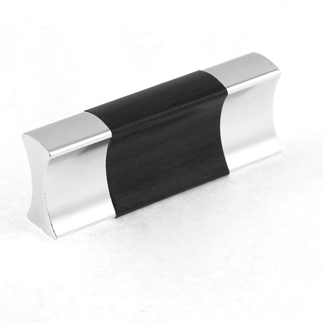 """1.6"""" Length Screw Fix Brown Streak Furniture Component Door Pull Handle"""