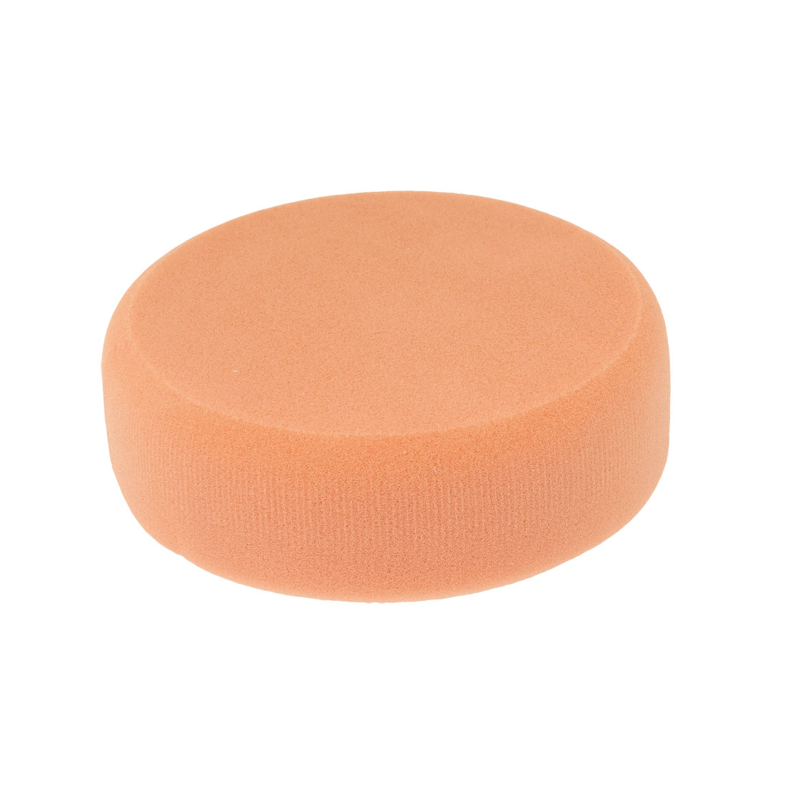 "Automobile Car Sponge Polishing Ball Buffing Pad Polisher 5.5"" Dia Orange Beige"