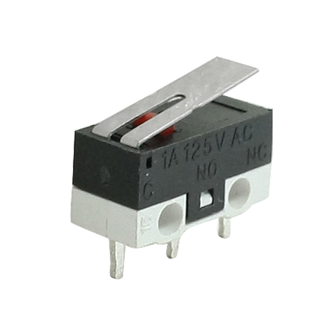 2 Pieces AC 125V 1A SPDT Low-Force Lever Momentary Micro Switch