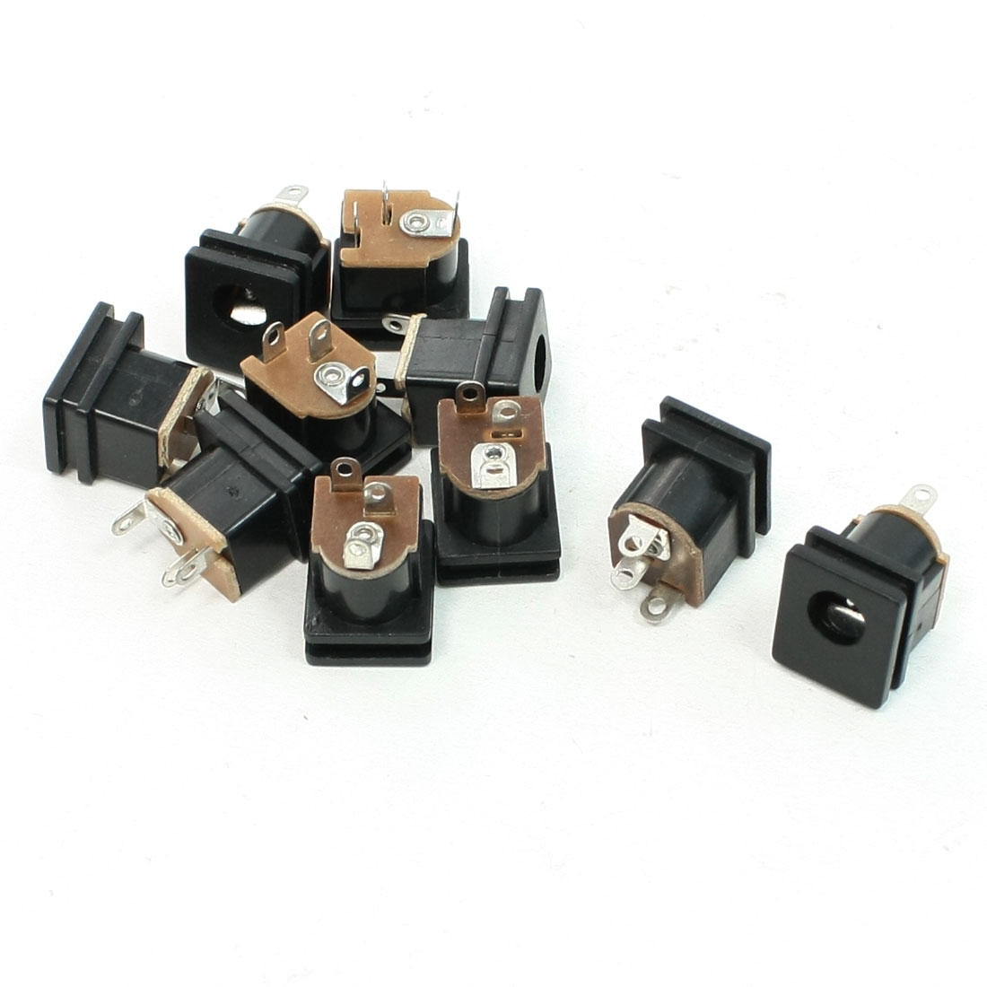 2.5mm Central Pin DC Power Jack Socket Replacement 9 Pcs