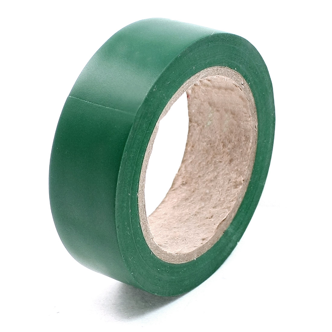 32.8Ft Length 17mm Width Green PVC Adhesive Electrical Insulation Tape