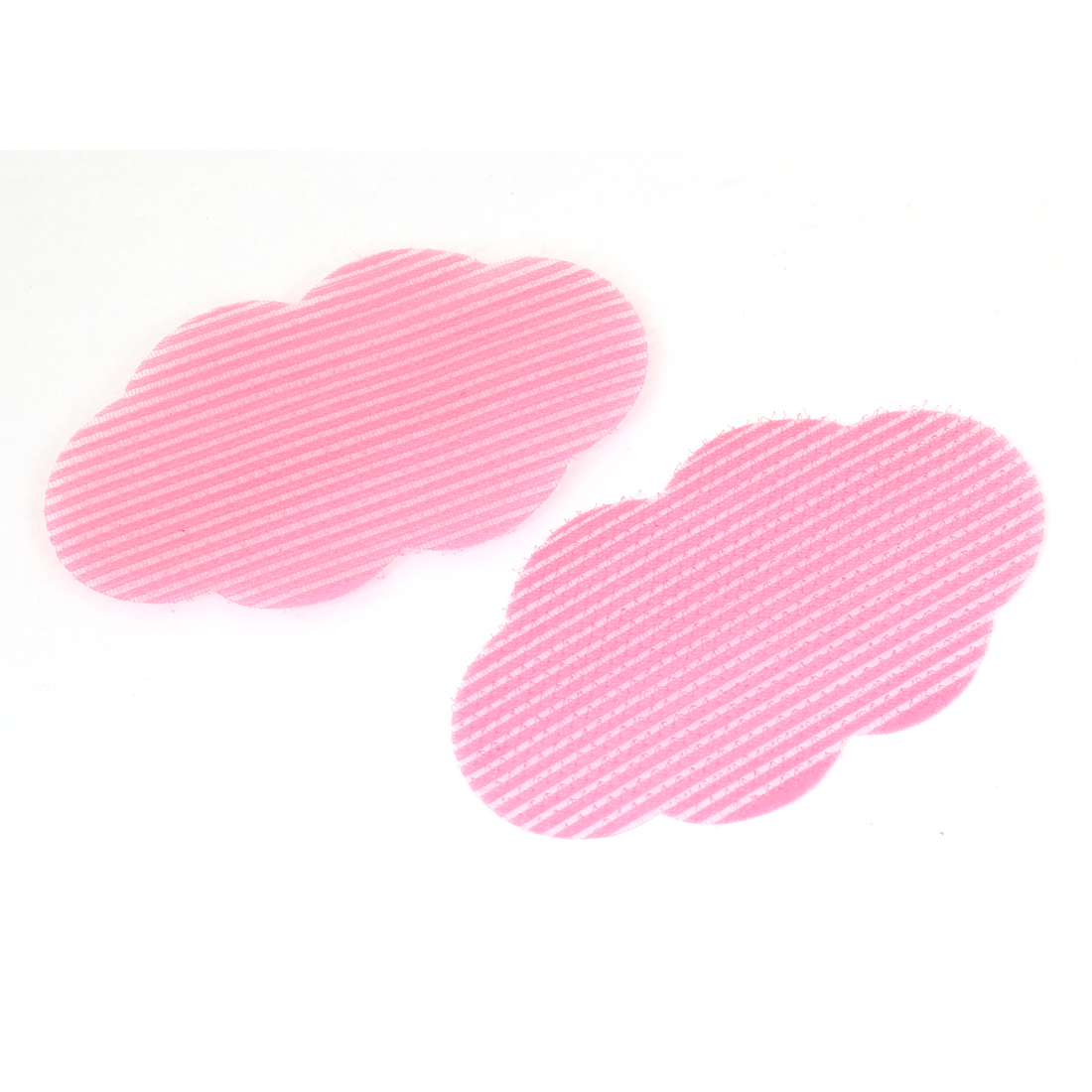 "2 Pieces Fuchsia Nylon Cloud Shape Foretop Hair Posted Magic Sheets 3.7"" Long"