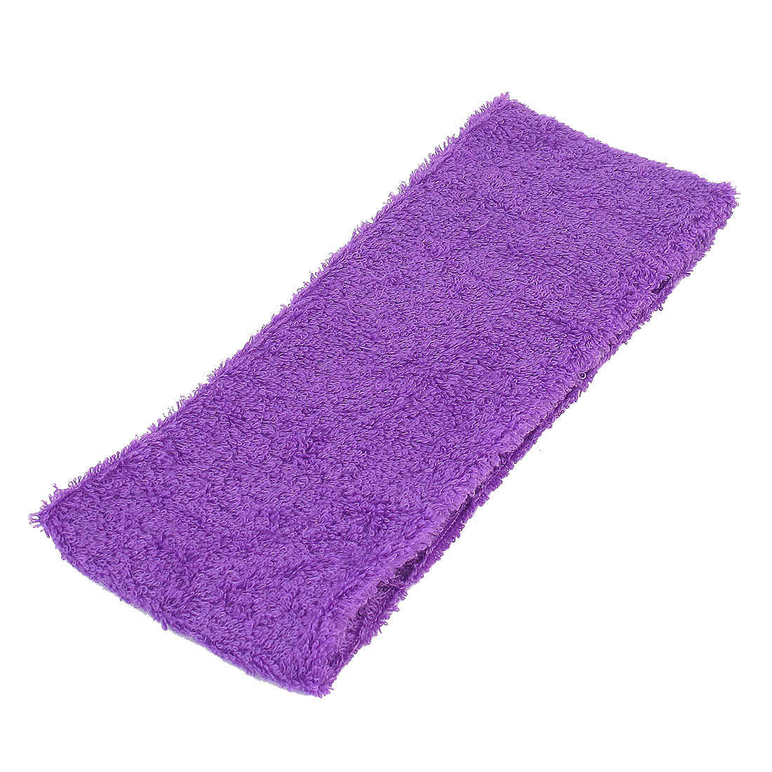 Athletic Sports Purple Terry Stretchy Sweat Band Headband