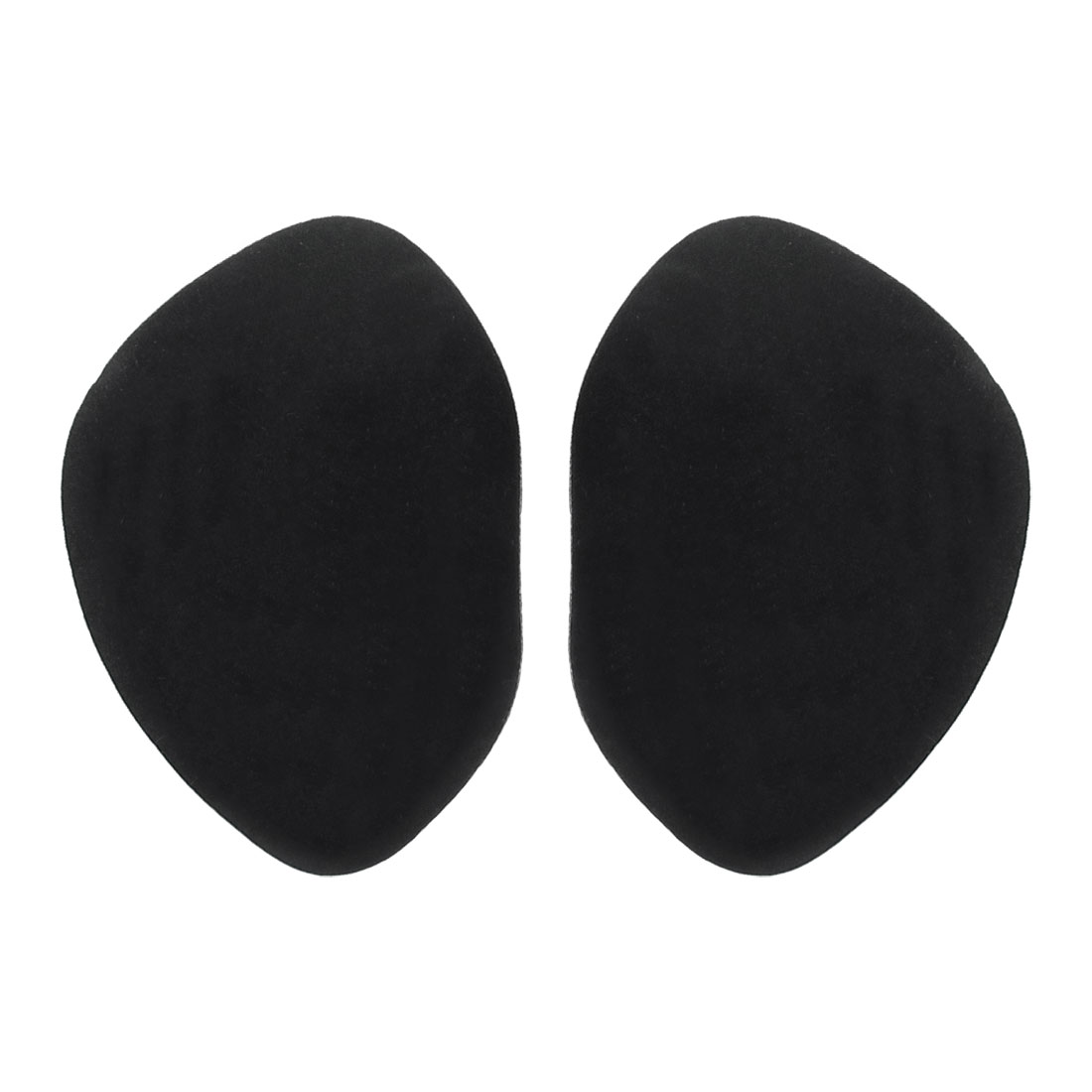Pair High Heels Shoes Pure Adhesive Gel Front Insloes Pads Black