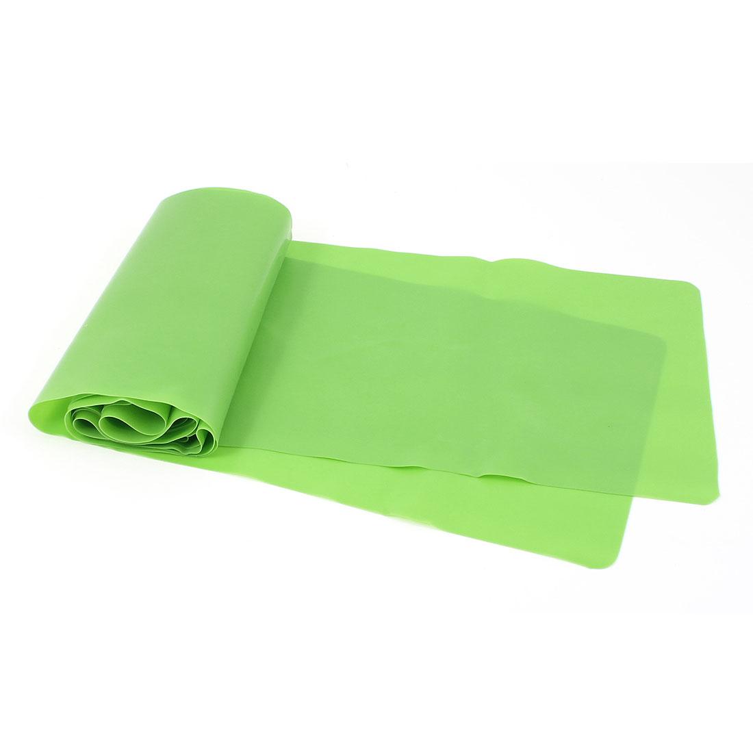 Multifunction Body Exercise Green Rubber Elastic Bandage 150 x 12cm