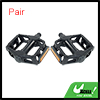 1 Pair Black Cycling Bike Bicycie Metal Platform Pedal Part