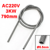 3KW Kiln Furnace Kanthal A1 Heating Element Coil Heater Wire 790mmx5.5mm