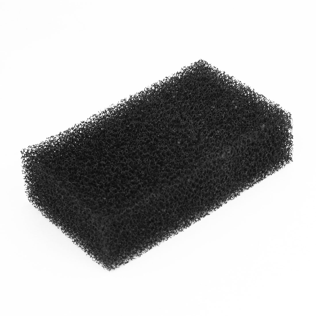 Black Sponge Washing Cleaning Pad 16.5 x 9.8cm for Car