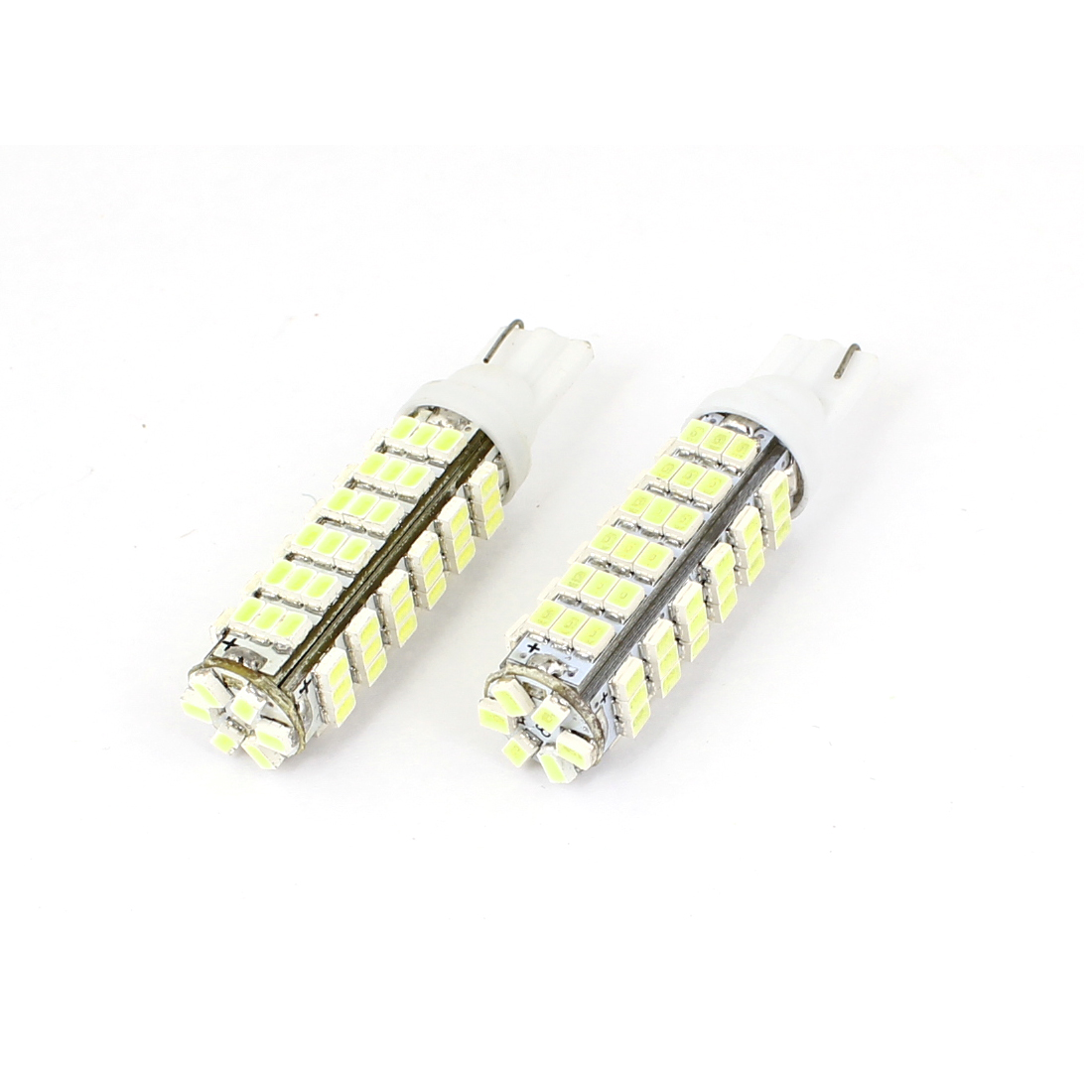 T10 White 78 LED 1206 SMD Dashboard Turn Tail Light Bulb 2 PCS for Car