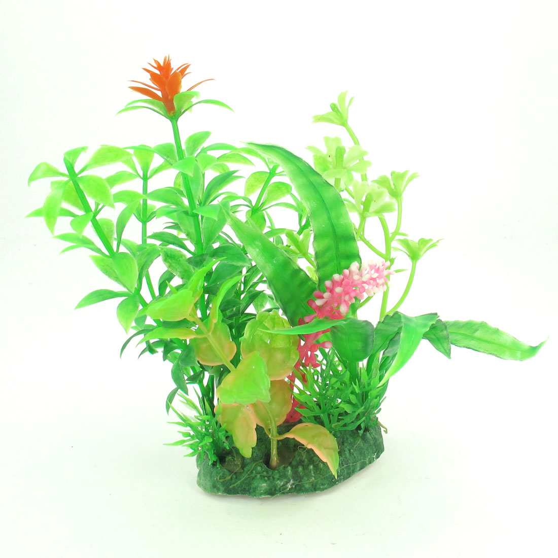 "Emulational Aquarium Grass Flower Water Plant Adorn 5.1"" Height for Fish Tank"