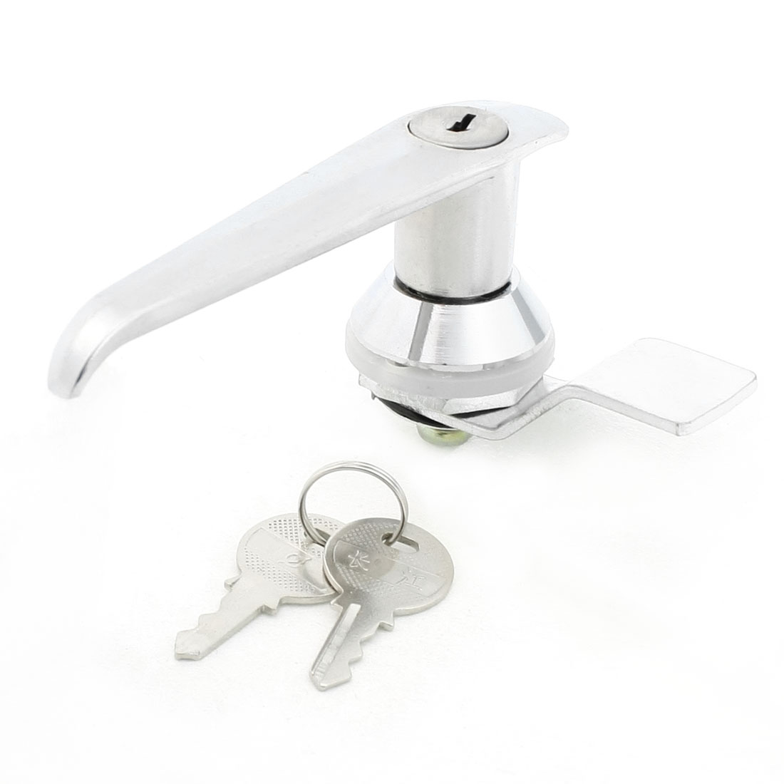 Door Cupboard Privacy Door Passage Lever Key Locking Lock w Keys