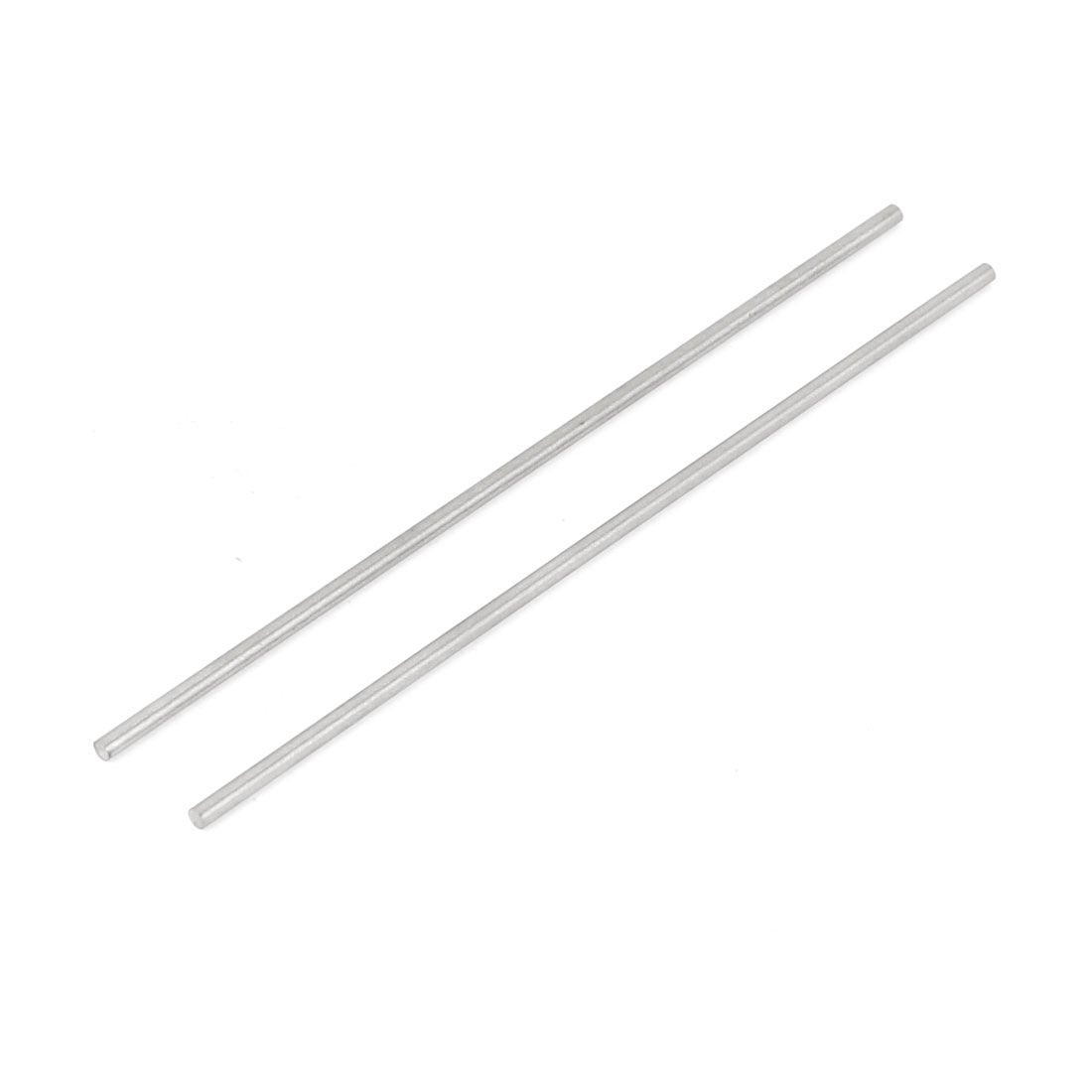 2 Pcs HSS High Speed Steel Round Turning Lathe Bars 2mm x 100mm