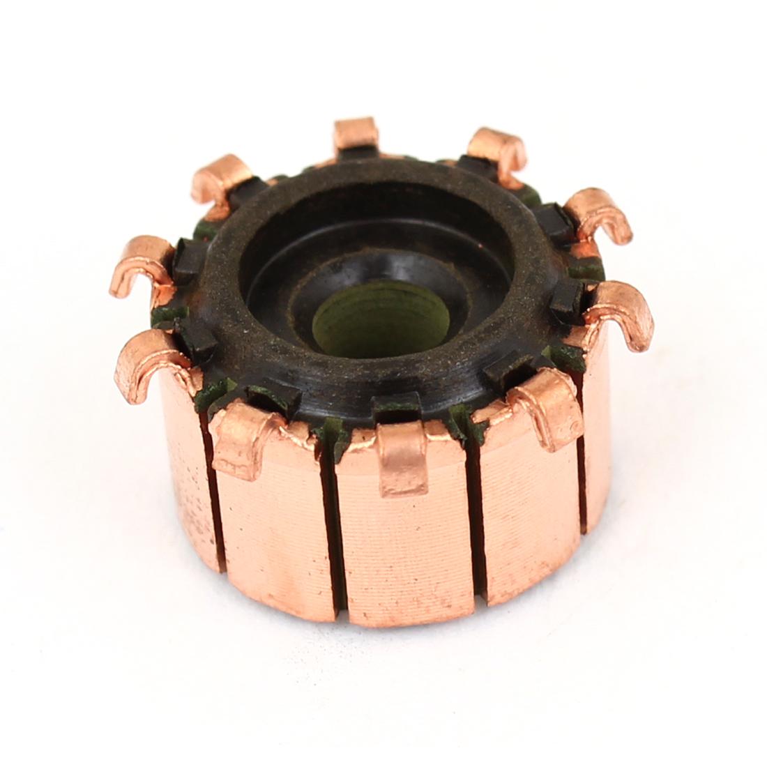 C002D 4.5mmx15mmx10mm Copper Case Auto Alternator Motor Power Tool Commutator