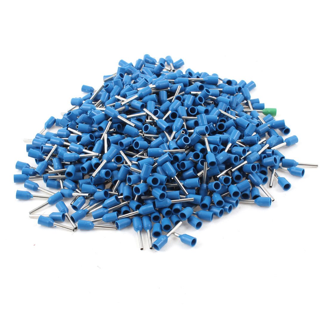 1000Pcs Wire Copper Crimp Connector Insulated Pin Terminal for AWG 18