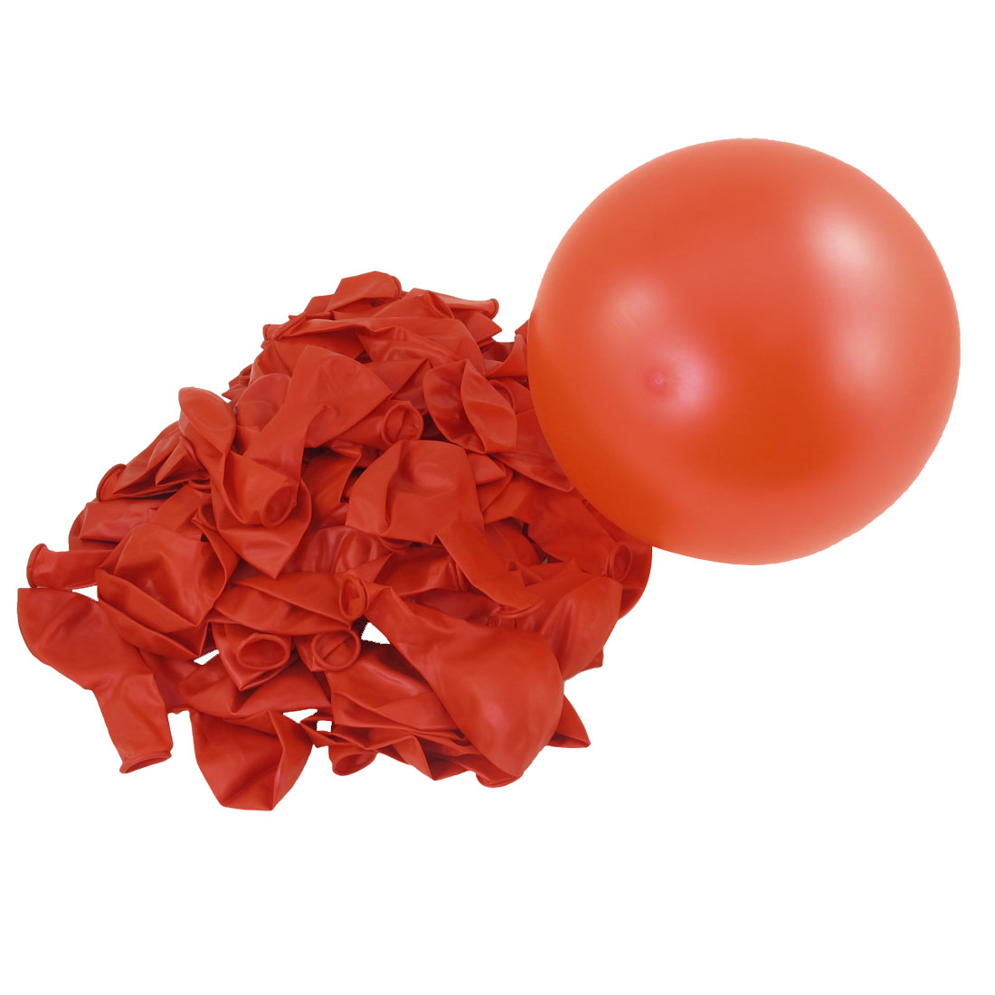 Inflatable Red Festival Christmas Ornament Latex Balloons 80PCS