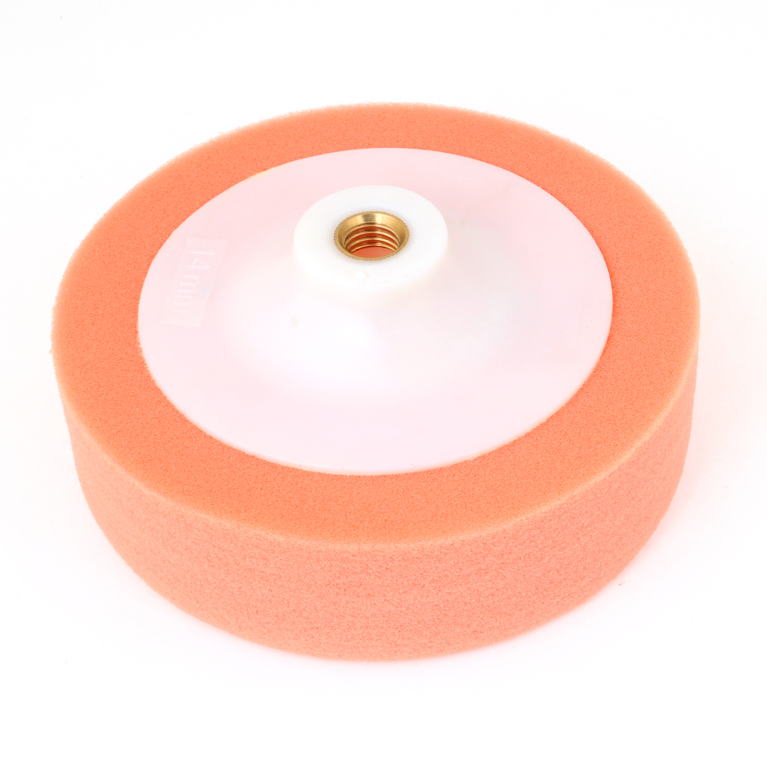 "5.8"" Diameter Soft Sponge Ball Wheel Polisher Tool Orange for Car"