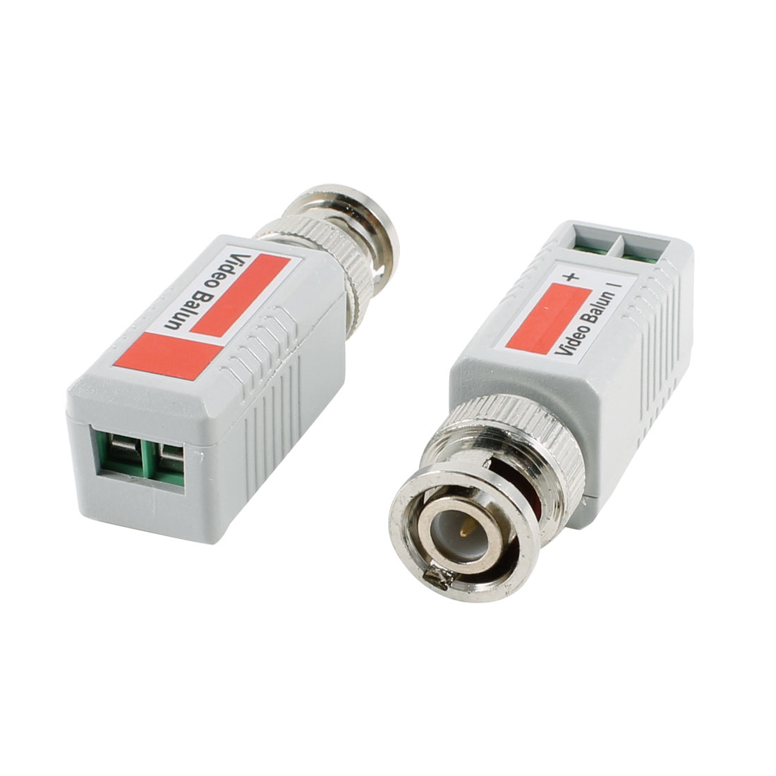 Pair Camera CCTV BNC CAT5 Video Balun Passive Transceiver Adapter Connector 202E