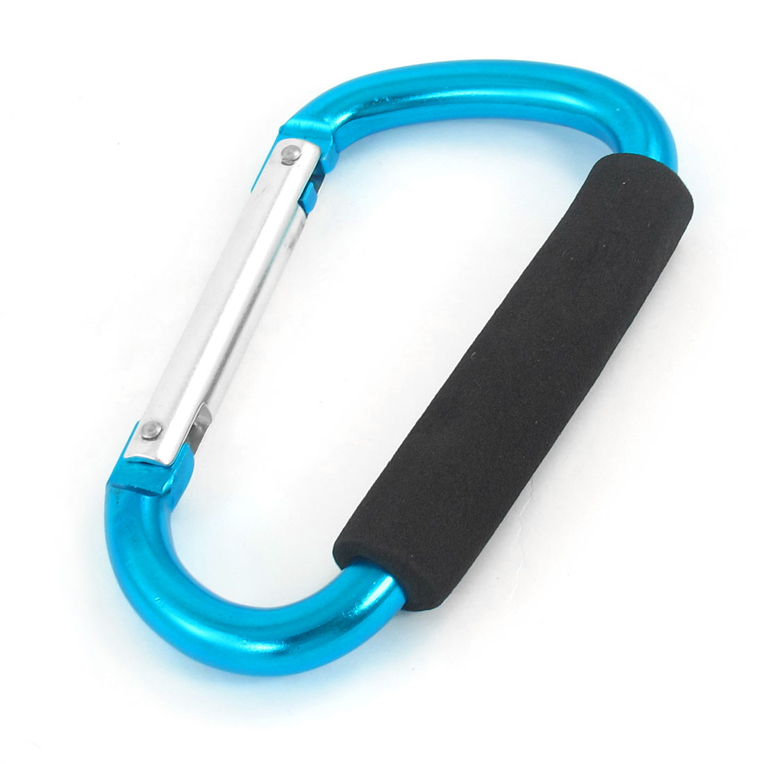 Travel Hiking D Shaped Aluminum Alloy Carabiner Hook Dodger Blue