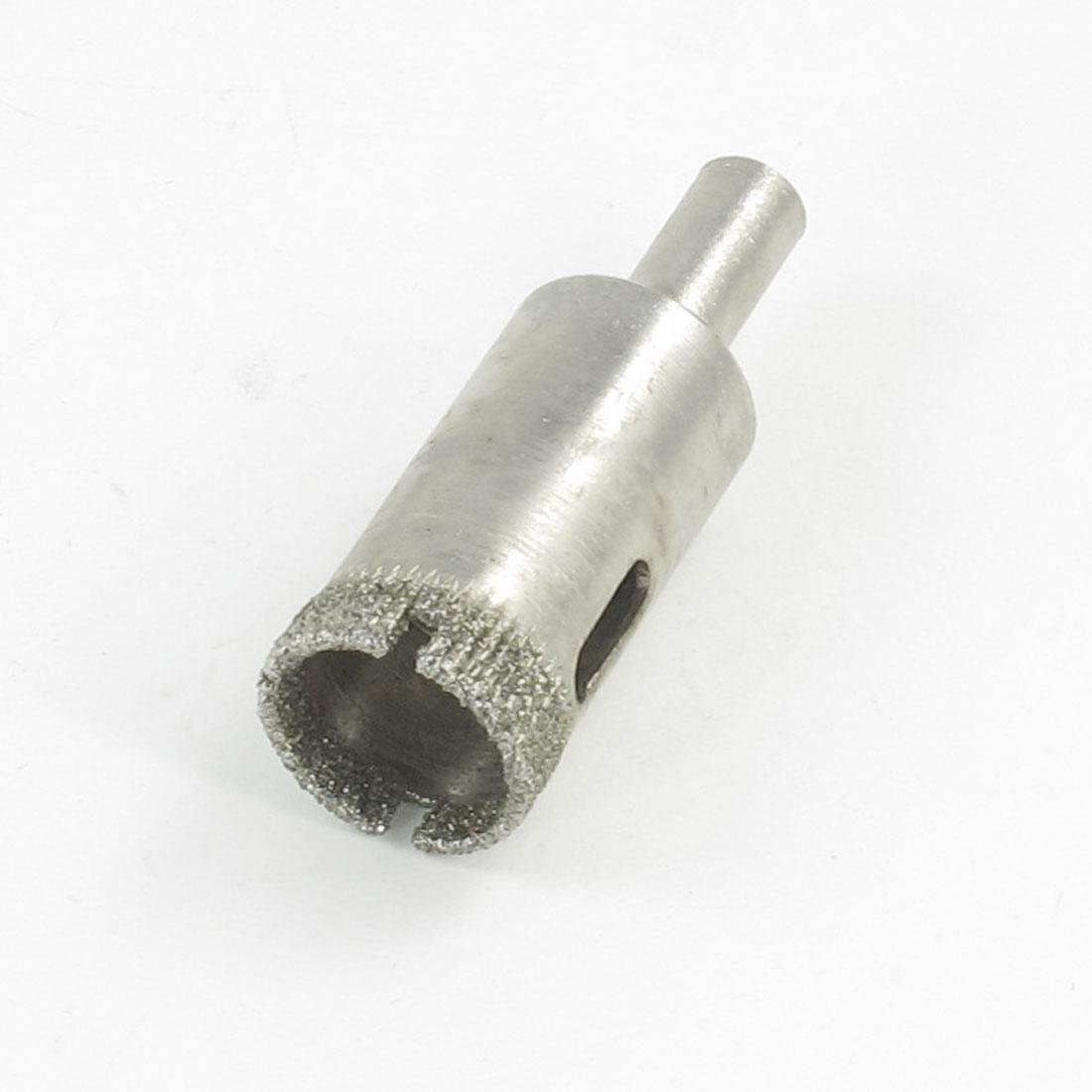 "0.5"" Dia Diamond Coated Drill Bit Ceramic Tile Glass Hole Saw"