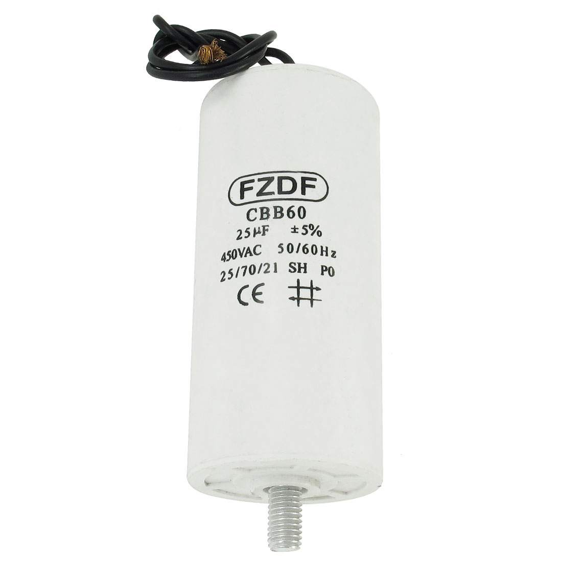 Air Conditioner Fan Motor Run Capacitor AC 450V 25MFD