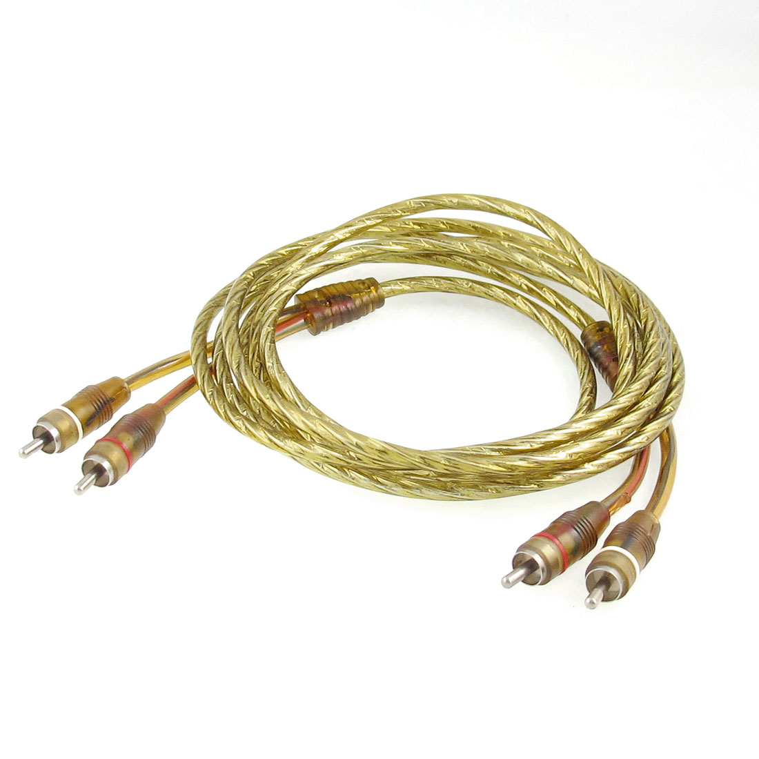 Gold Tone 2.2M Long 2 Male RCA to 2 Male RCA Audio Cable for DVD TV