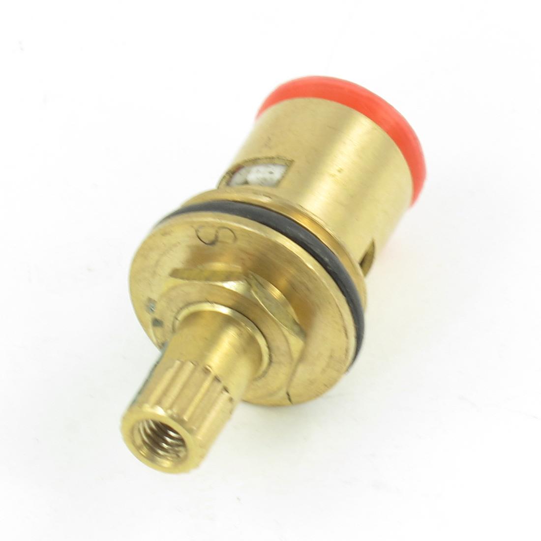 Kitchen 4.3mm Female Thread Brass Cartridge Ceramic Valve Core