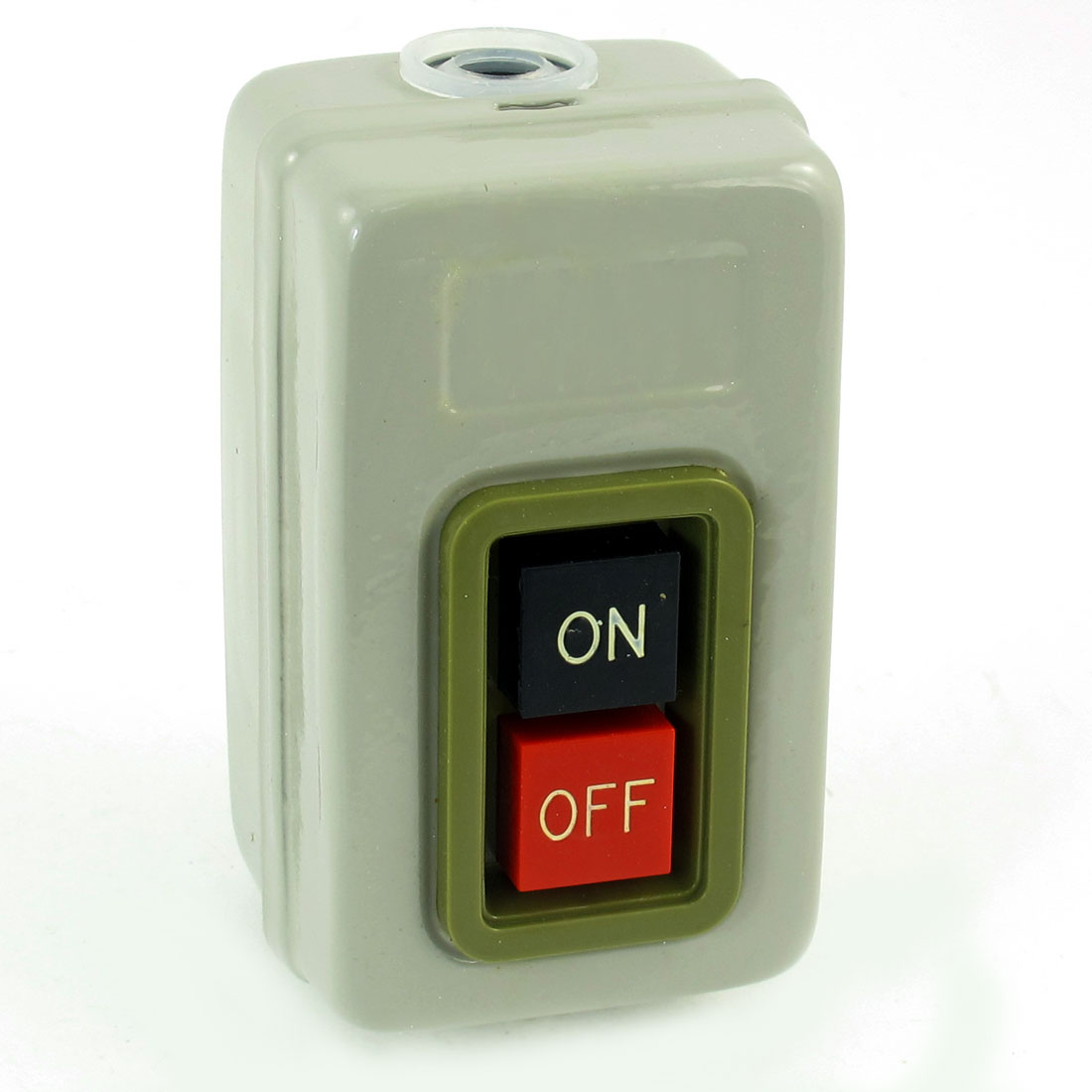 Metal 3 Phase 500V 3.7KW On/Off Power Push Button Switch Station