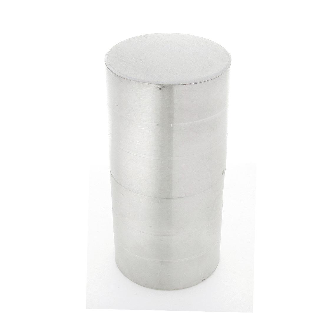 "Bathroom 2"" Dia Cylinder Shaped Steel Glass Door Pull Handle"