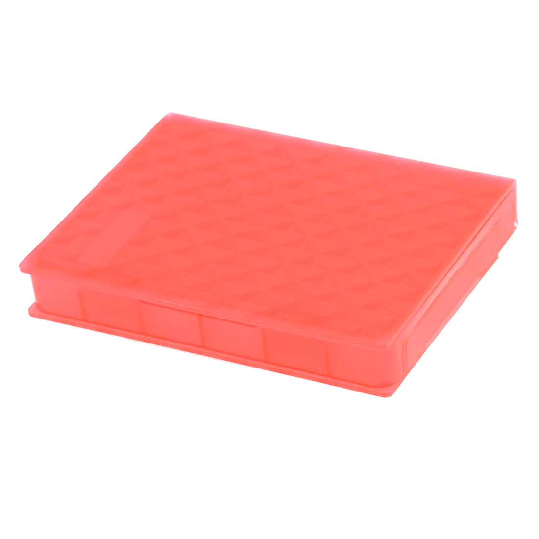 "Red Checker Pattern 2.5"" HDD Storage Plastic Hard Drive Case"