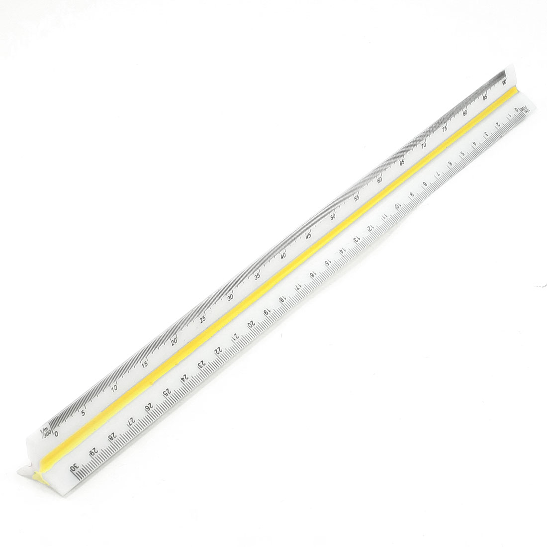 32.2cm Long Architect Triangular Scale Ruler 1:100 1:200 1:250 1:300