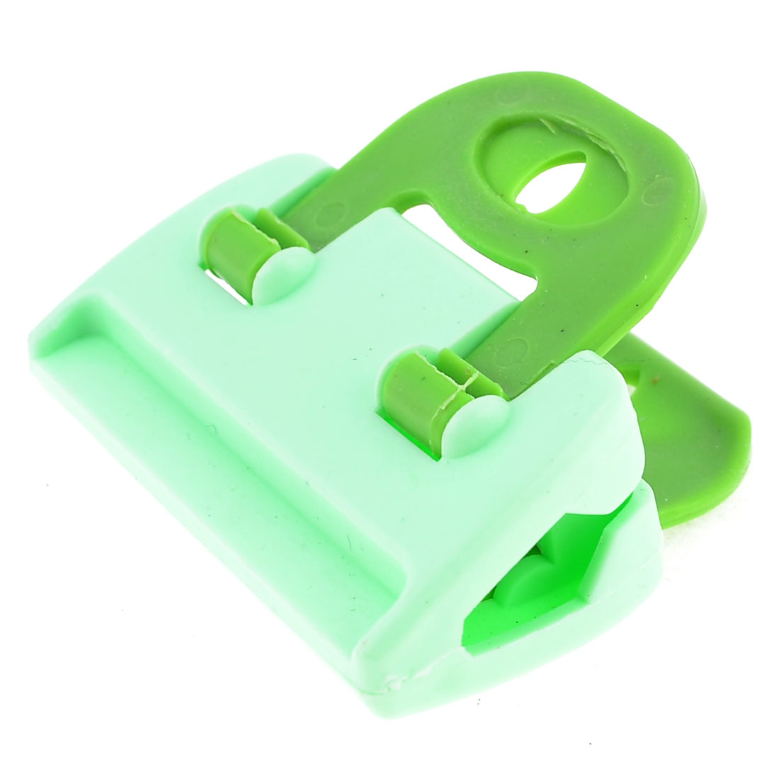House Green Plastic Fesh Food Storage Bag Seal Clamp Clip
