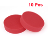 10 Pcs Red Soft Sponge Wax Waxing Polishing Wheel 9.8cm Dia for Auto